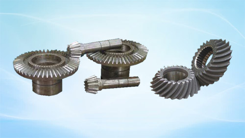 Spiral Bevel Gears & Straight Bevel Gears